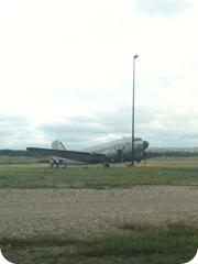 Plane in the Field